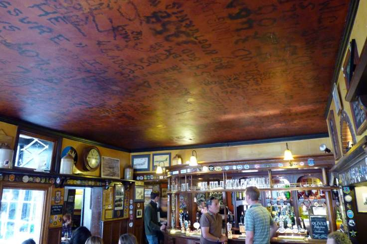 the_eagle_pub_ceiling